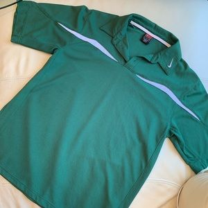 🍍2 for $10! Nike Dri-Fit Mens green Polo - size S